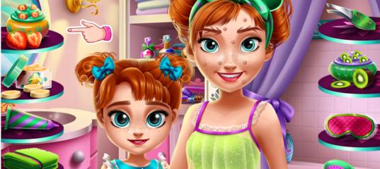 Игра Принцесса Анна с дочкой в Спа