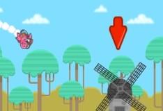 Игра Свинья на ракете
