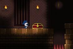 Игра Беготня в пиксельном замке