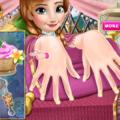 Игра Принцесса Анна на маникюре