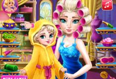Игра Игра Эльза с дочкой в спа-салоне