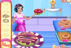 Игра Игра Кафе С Пончиками Белоснежки