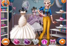 Игра Игра Свадебное платье для Анны