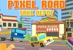 Игра Пиксельное такси