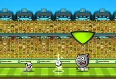 Игра Футбол с игрушечными животными