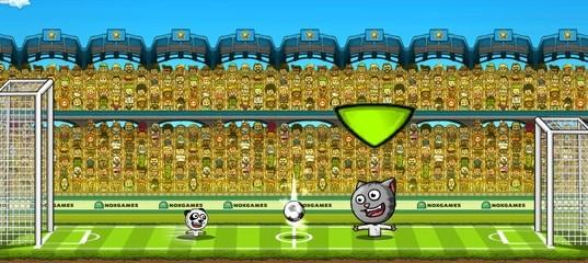 Футбол с игрушечными животными