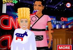 Игра Игра Дональд Трамп против Хиллари Клинтон
