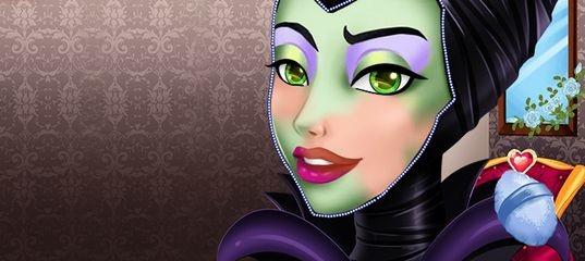 Современный макияж для злодейки