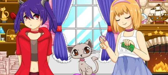 Игра Салон для Котиков