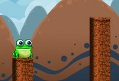 Игра Прыгающий лягушонок