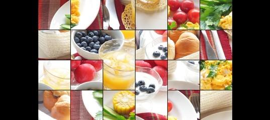 Пазл «Еда»