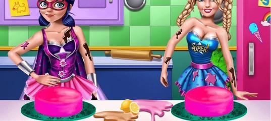 Игра Супергерои на Кухне