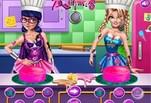 играйте в Игра Супергерои на Кухне