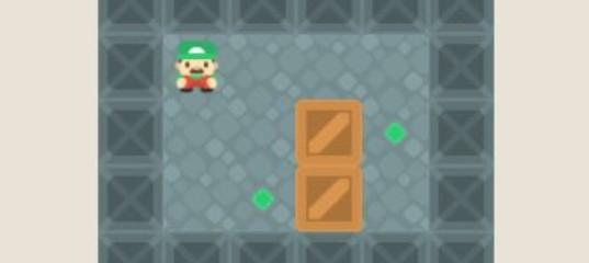 Игра Супер Марио в лаберинте