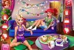 Игра Игра Вечер Эльзы и Ариэль
