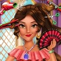 Игра Прически для латинской принцессы