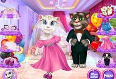 Игра Игра Анжела и Том женятся