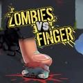Играть бесплатно в Зомби против пальца