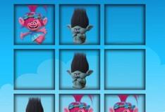 Игра Игра Тролли: Крестики-нолики