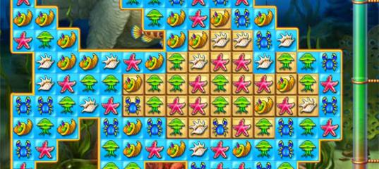 Игра Фишдом - уборка в аквариуме