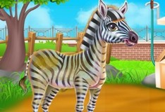 Игра Уход за зеброй