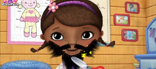 Игра Сбрить Бороду Доктор Плюшева
