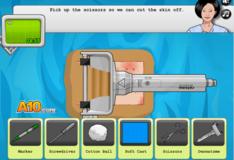 Игра Игра Виртуальная Хирургия: Операция на коже