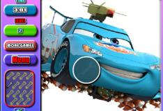 Игра Игра Молния Маквин: Скрытые автомобильные ключи