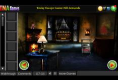 Игра Игра Побег из ужасного дома 2