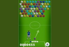 Игра Футбольные пузырьки