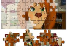 Игра Игра Барбоскины: Зеленоглазая Лиза - Пазл