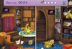 Игра Игра Лунтик: Найди 5 одинаковых предметов