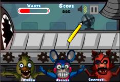 Игра Игра 5 Ночей С Фредди: Голодный мусор