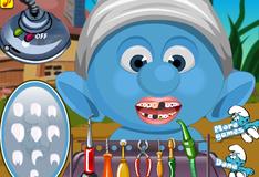 Игра Идеальные зубы малыша Смурфика