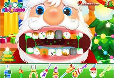 Игра Лечение зубов Санта Клауса