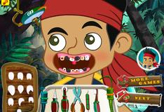 Игра Лечение зубов пирата Джейка
