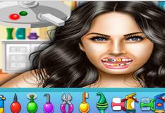 Игра Меган Фокс у стоматолога