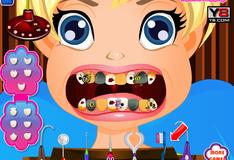 Игра Полли у стоматолога