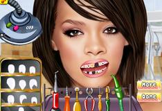 Игра Риана у стоматолога