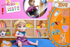 Игра Анна и малышка Эльза