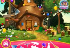Игра Игра Маша и медведь: Украшение дома