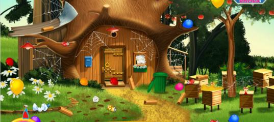 Игра Маша и медведь: Украшение дома