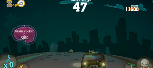 Игра Зомби гонки V1