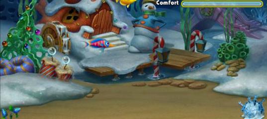 Игра Фишдом: Морозный всплеск