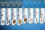 Игра Классический пасьянс «Косынка»