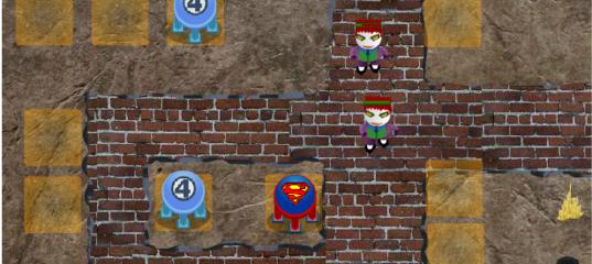 Игра Супер Герои: Защита Башни