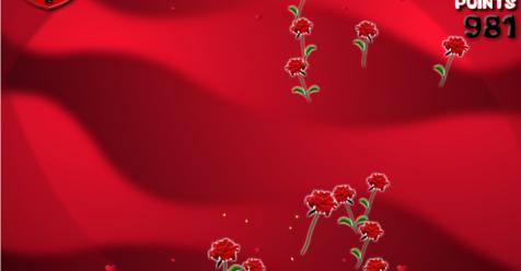Игра Цветы Валентина