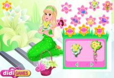 Игра Игра Романтические цветы принцессы