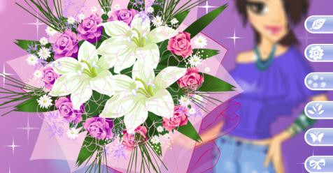 Игра Потрясающие цветы