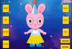 Игра Игра Одень пасхального зайчика